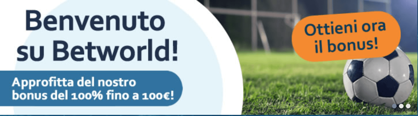 betworld Bonus Scommesse Online